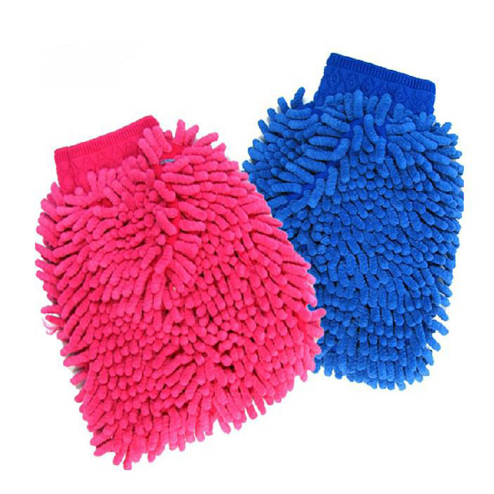 Microfiber Hand Towels: Car Vehicle Microfiber Hand Towel Coral Chenille Washing