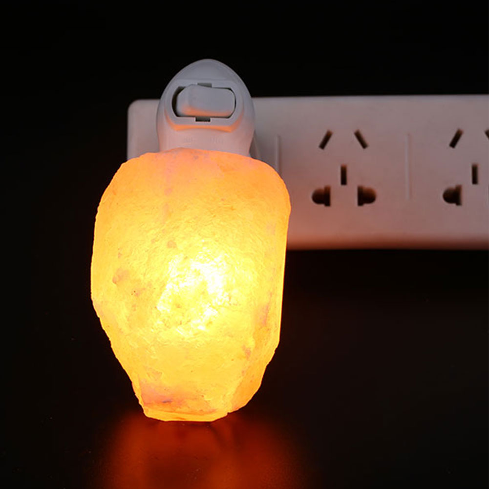 Baby Salt Lamp Night Light : Himalayan Salt Lamp Natural Crystal Rock Shape Dimmer Switch Night Light 1-7 kg eBay
