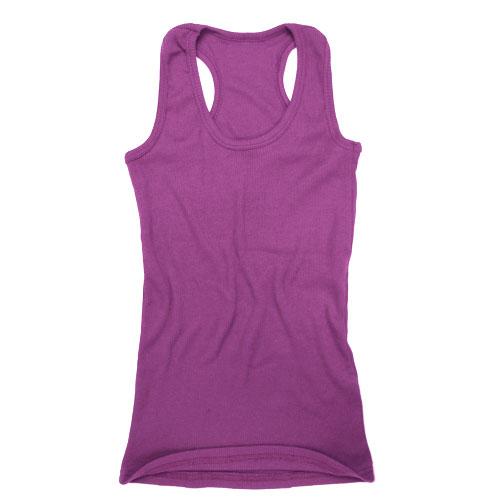 Women Ladies Girls Vest Cami Racerback Sando Shirt Tank ...