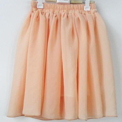 Hot Womens Girls Mini Chiffon Skirt Double Layer High Waist Pleated Skirt BOHO
