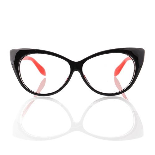 Oversized Cat Eye Glasses Eyeglasses Chic Design Retro ...