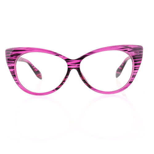 Oversized Cat Eye Glasses Eyeglasses Chic Design Retro ...