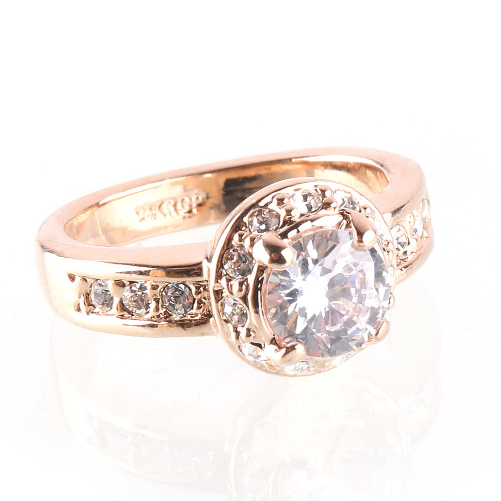 Gold Engagement Rings: Rose Gold Engagement Rings For Women