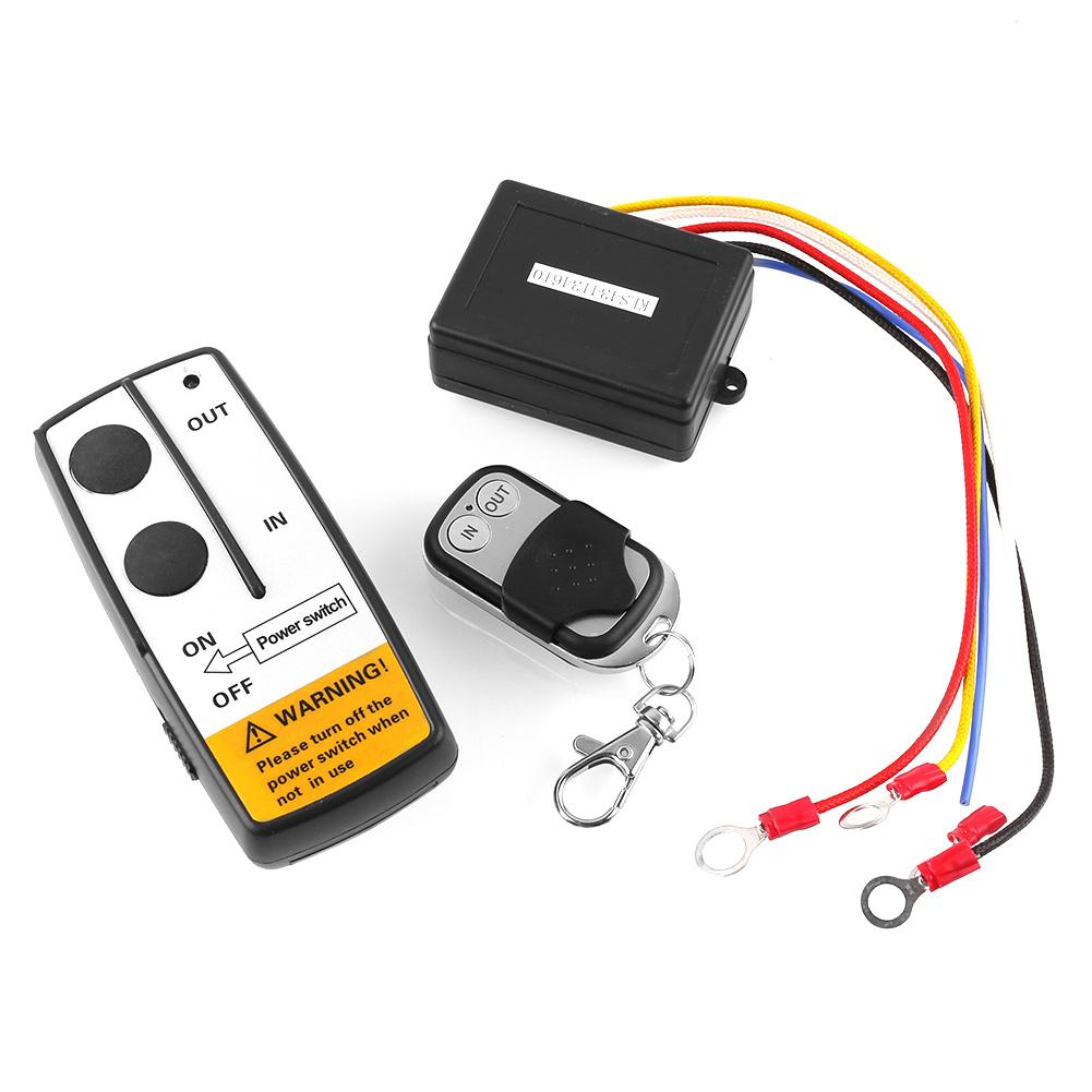 12 Volt Wireless Remote Control Kit For Truck Jeep Atv