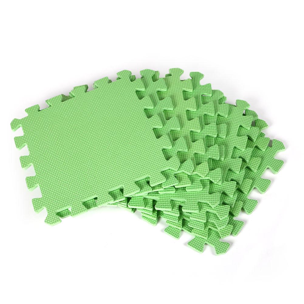 Details About 9x Interlocking Floor Mats Exercise Yoga EVA Foam Tile