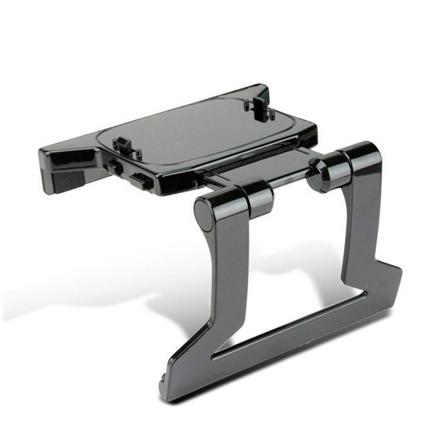 New TV Clip Mount Plastic Stand Holder for Microsoft Xbox 360 Kinect Sensor