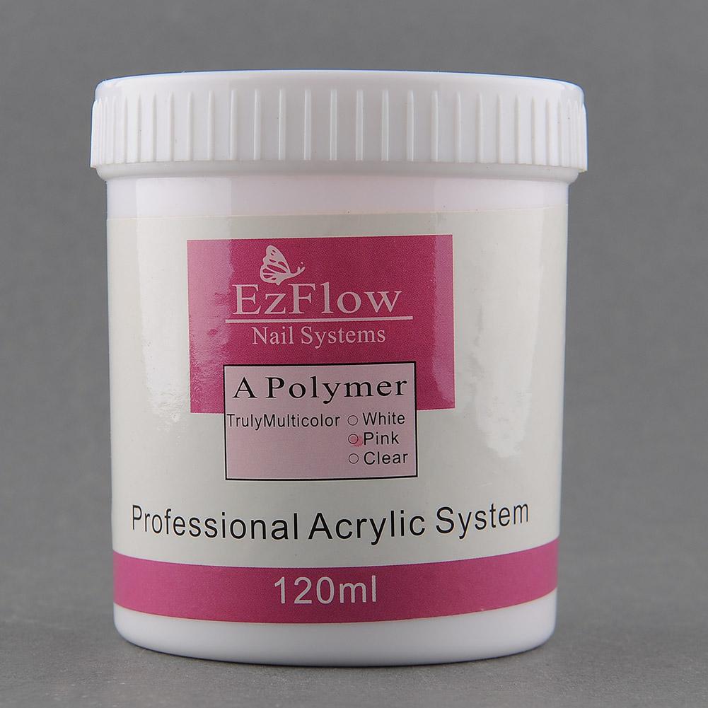 120mll Acrylic Crystal Nail Art Tips Polish Powder Polymer