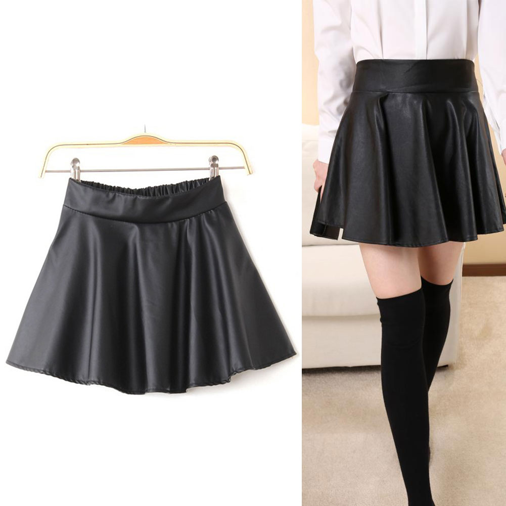 Womens Black Skirts