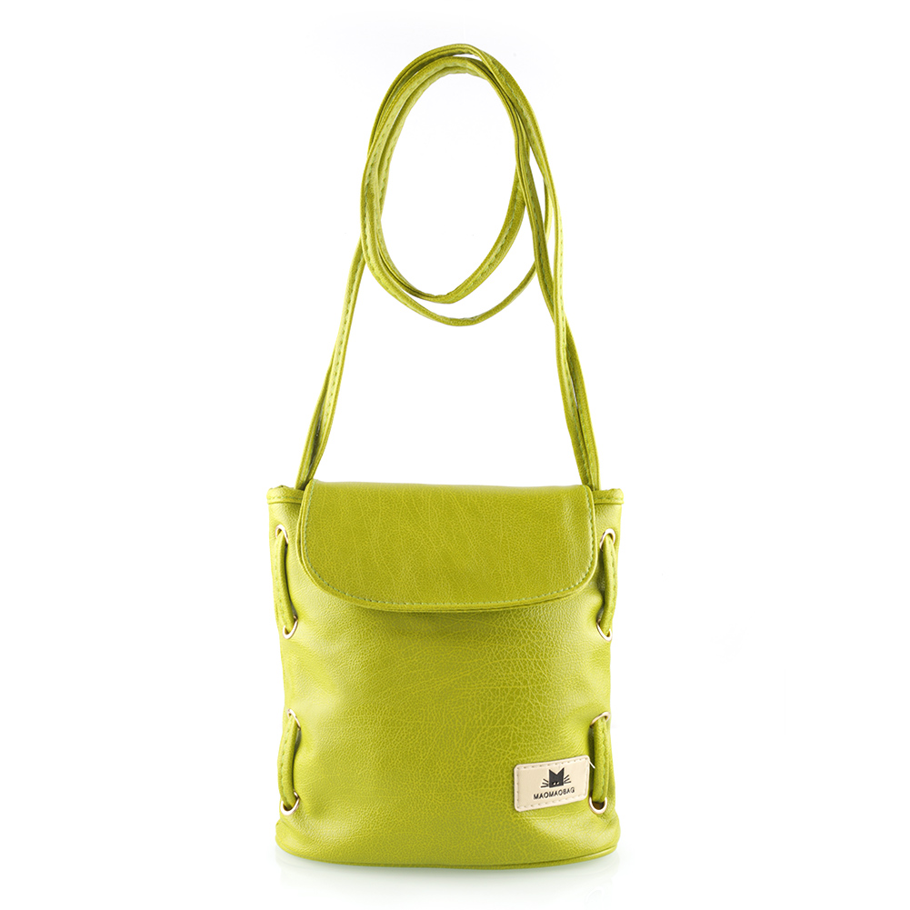 Ladies Sweet Handbag Leather Messenger Cross Body Bags Shoulder Bucket