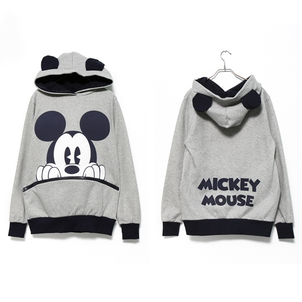 Cute-Girls-Womens-Mickey-Minnie-Mouse-Ear-Emo-Sweater-Shirt-Jumper-Hoodie-Hooded