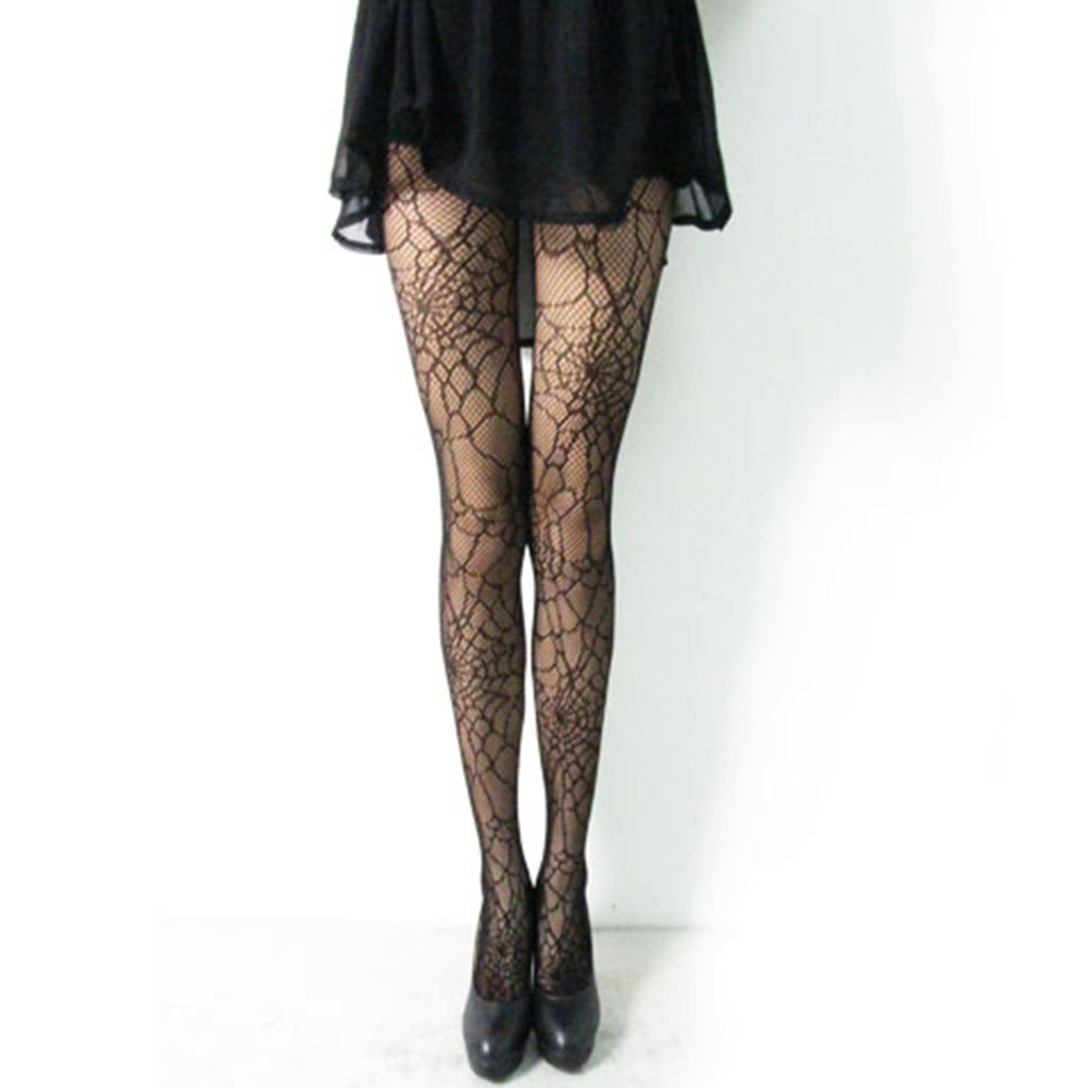 Fashion sexy black fishnet stockings pantyhose tights for Fish net tights