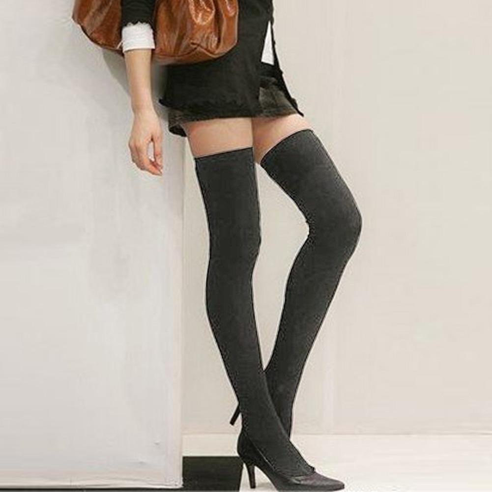 Thigh high socks fashion