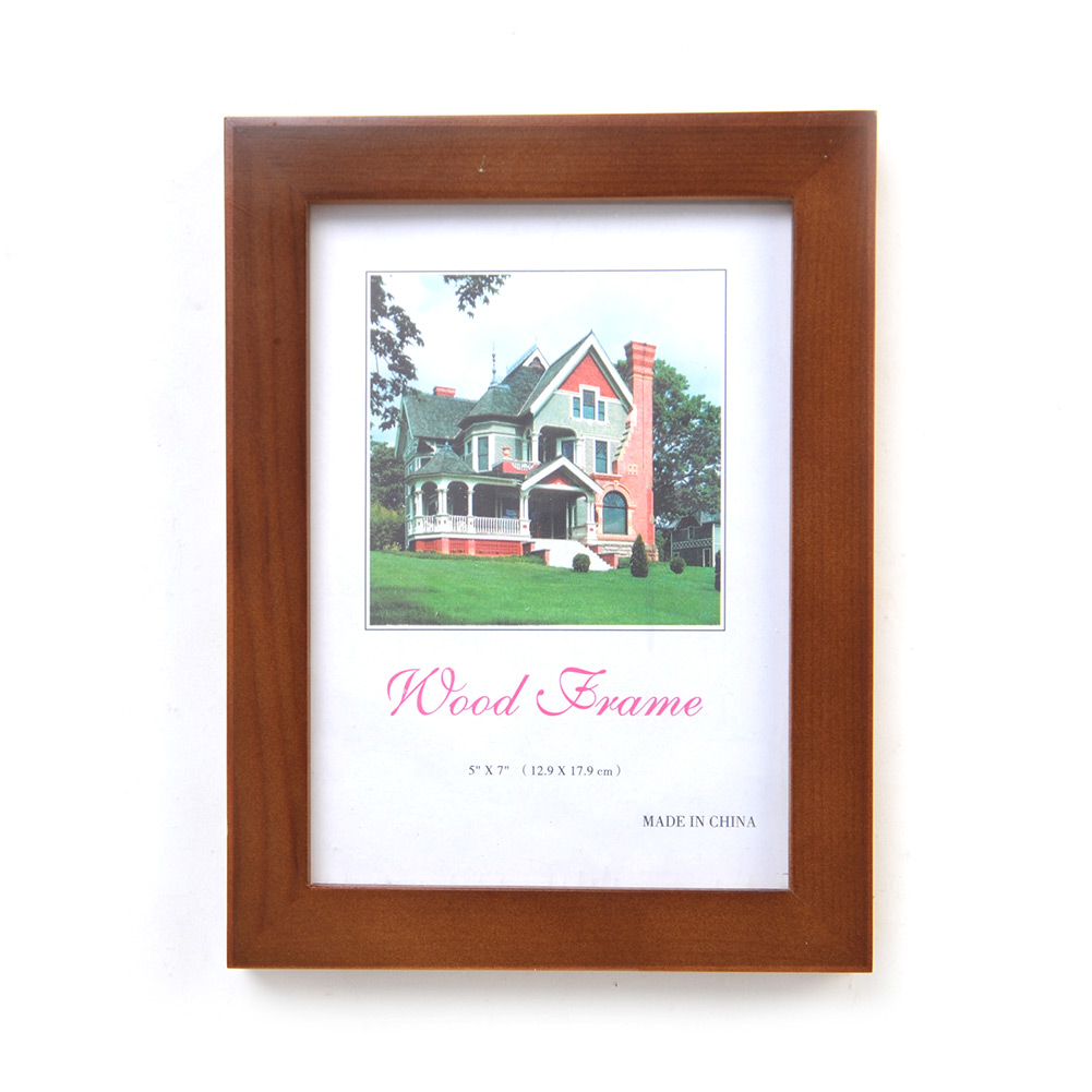 5 x7 wood wall mounted picture photo frame wall office