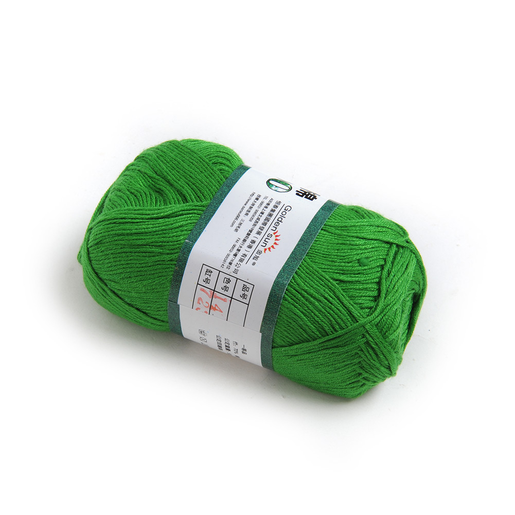 Wholesale! 50g Smooth Natural Bamboo Cotton Knitting Yarn Fingering Sweater