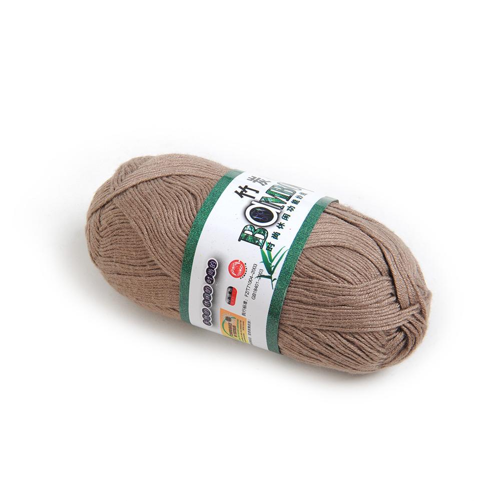 Squishy Yarn : High Quality Knitting Yarn Natural Soft Baby Yarn Bamboo&Cotton Skein New eBay