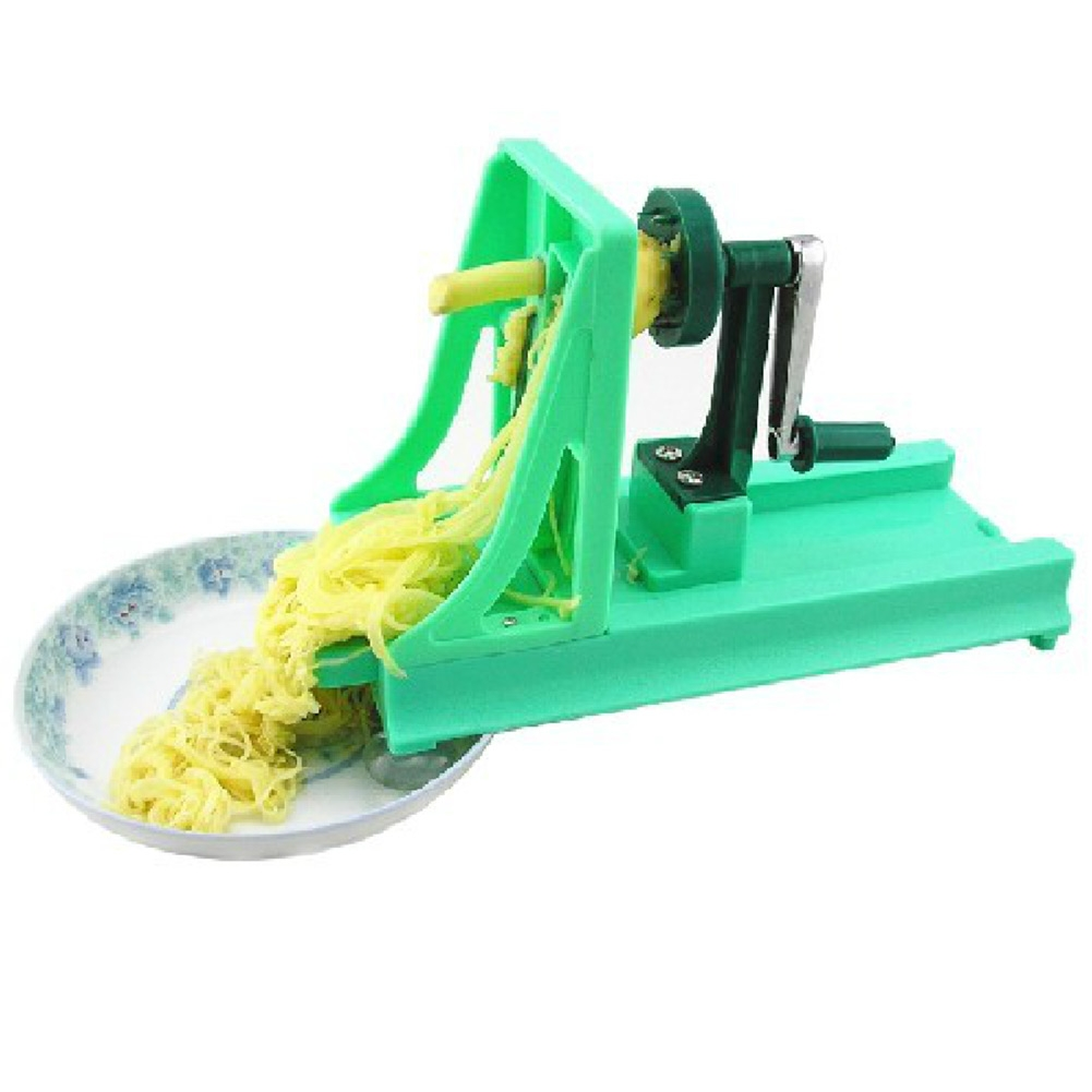 ... -Spiral-Rotary-Grater-Slicer-Fruit-Vegetable-Potato-Cucumber-Cutter
