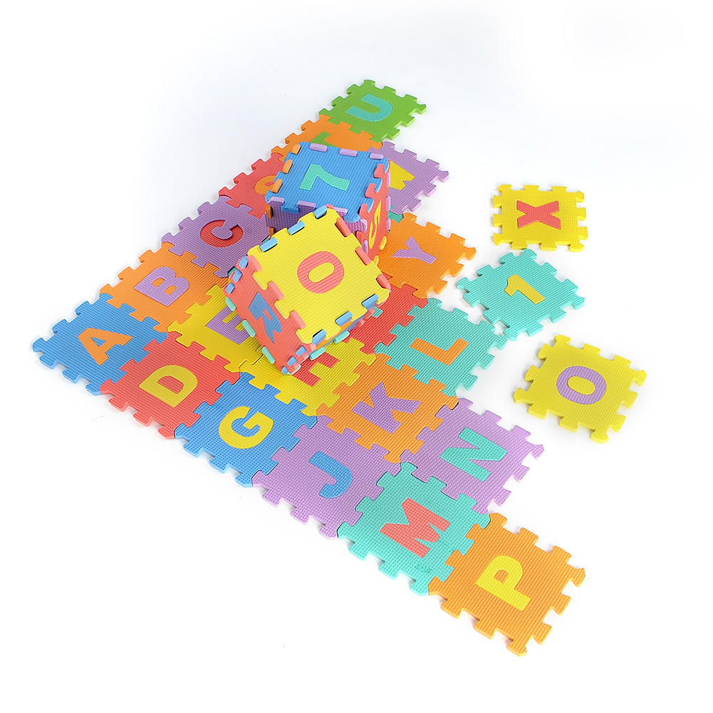 36pcs-Interlocking-EVA-Foam-Alphabet-Letters-Numbers-Soft-Play-Mat-Puzzle