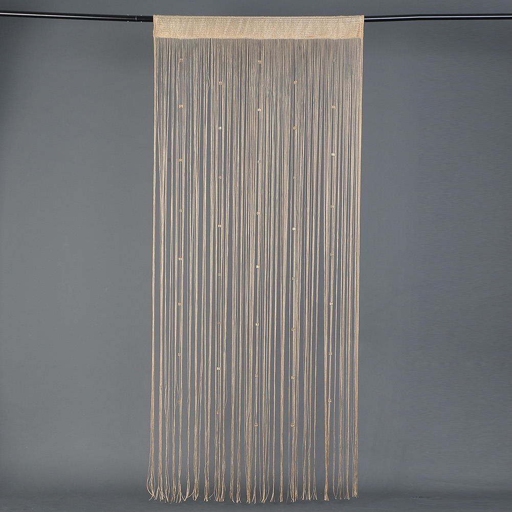 Beaded String Curtain Door Divider Tassel Screen Panel