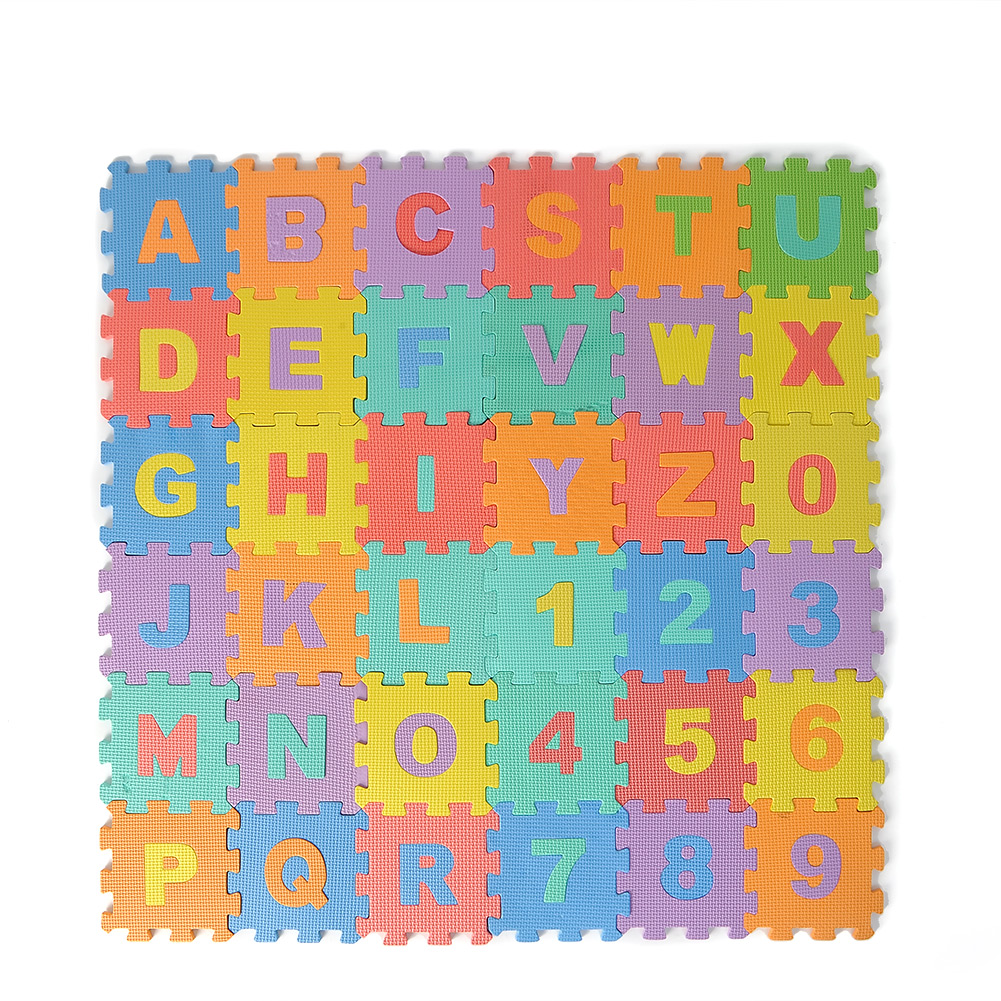 Details about 72pcs Large EVA Foam Alphabet Letters Numbers Floor Mat ...