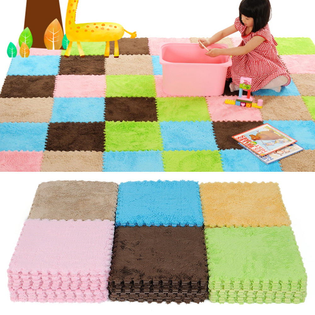 Baby floor tiles floor covering eva foam puzzle floor mats tile play mat gym baby kids dailygadgetfo Choice Image