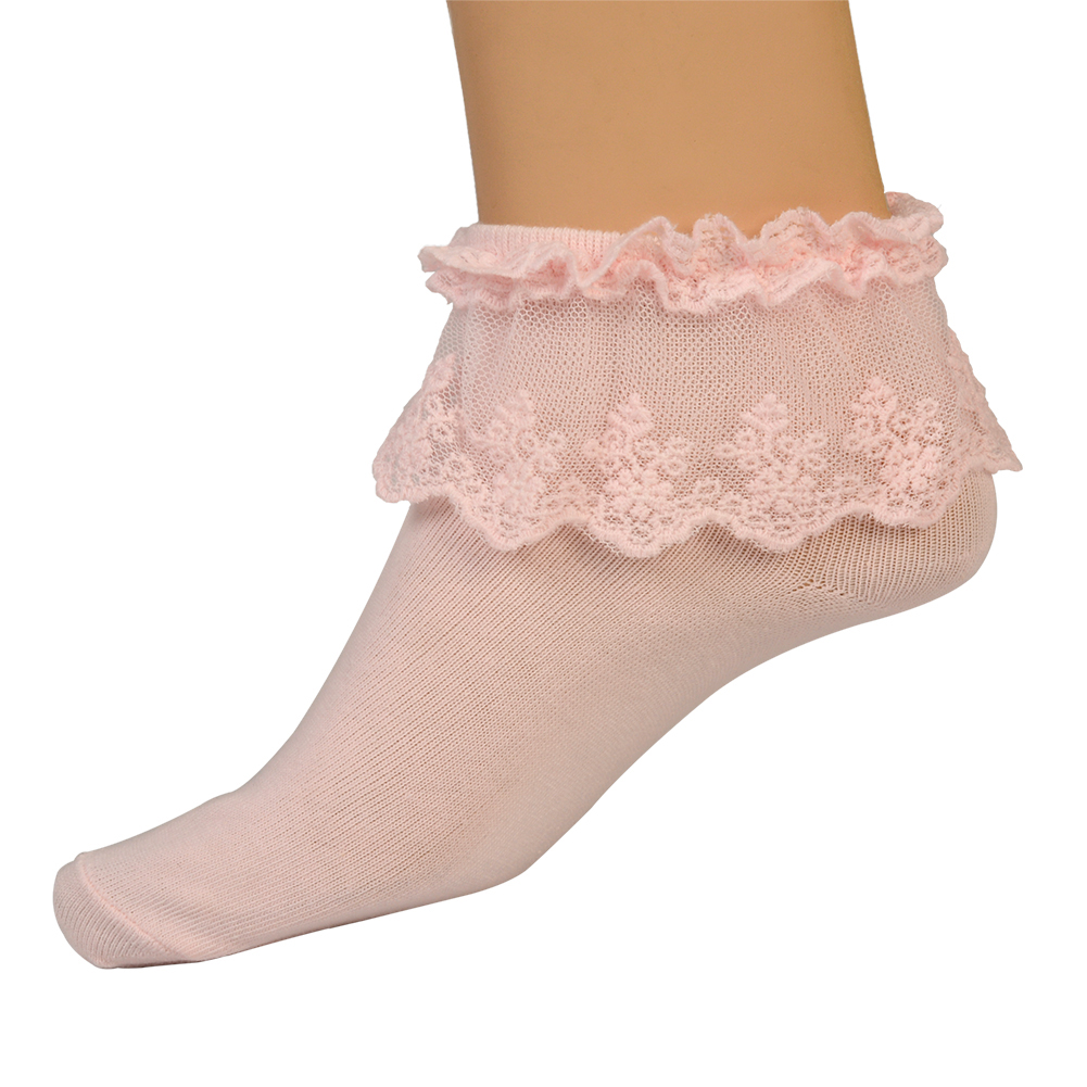 Womens Ruffle Socks ($ - $): 30 of items - Shop Womens Ruffle Socks from ALL your favorite stores & find HUGE SAVINGS up to 80% off Womens Ruffle Socks, including GREAT DEALS like AM Landen Women's Pink Lace Ruffle Frilly Cotton Socks Princess Socks Ankle Socks .