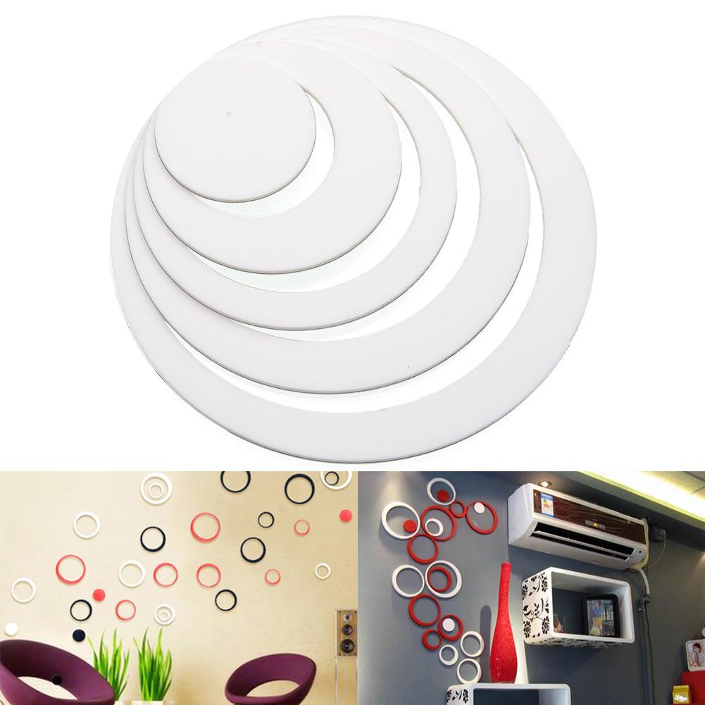 1 3d Circles Diy Art Wall Stickers Indoor Room Wall Home