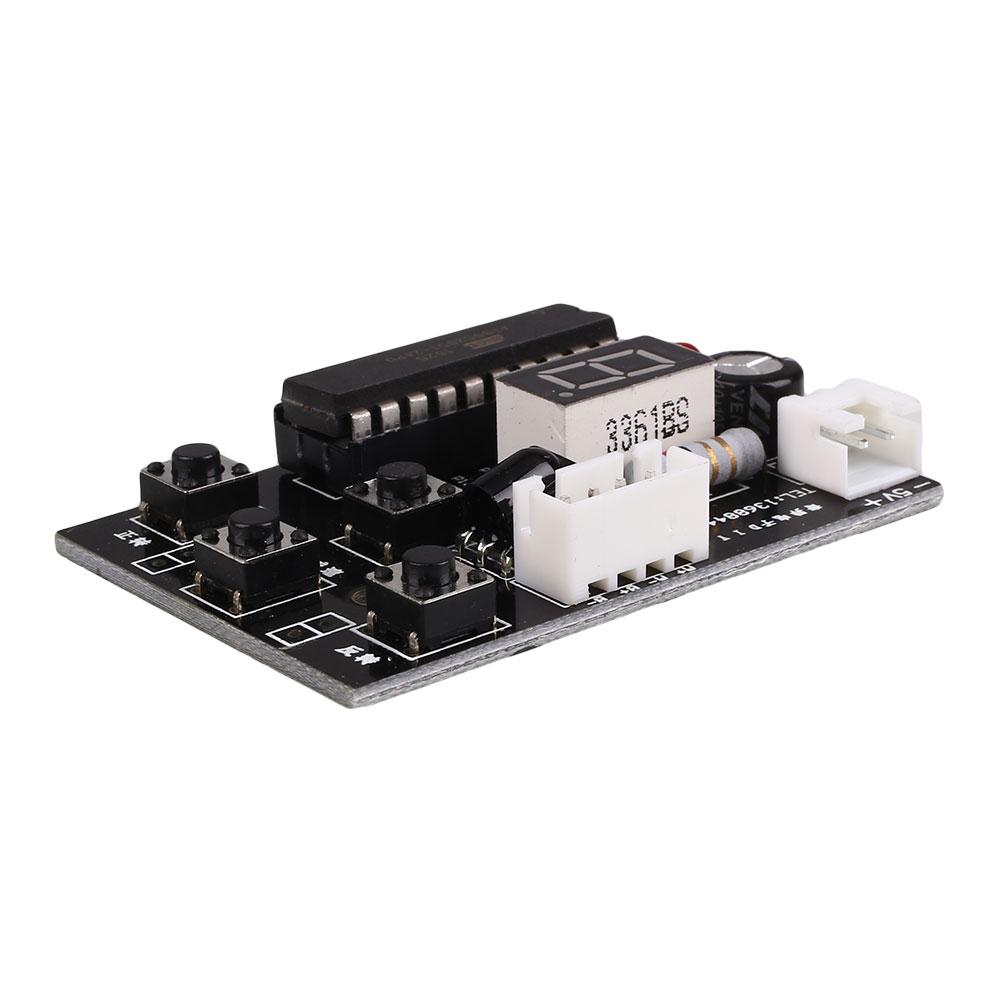 Diy Dc Adjustable Speed Stepper Motor Driver Controller