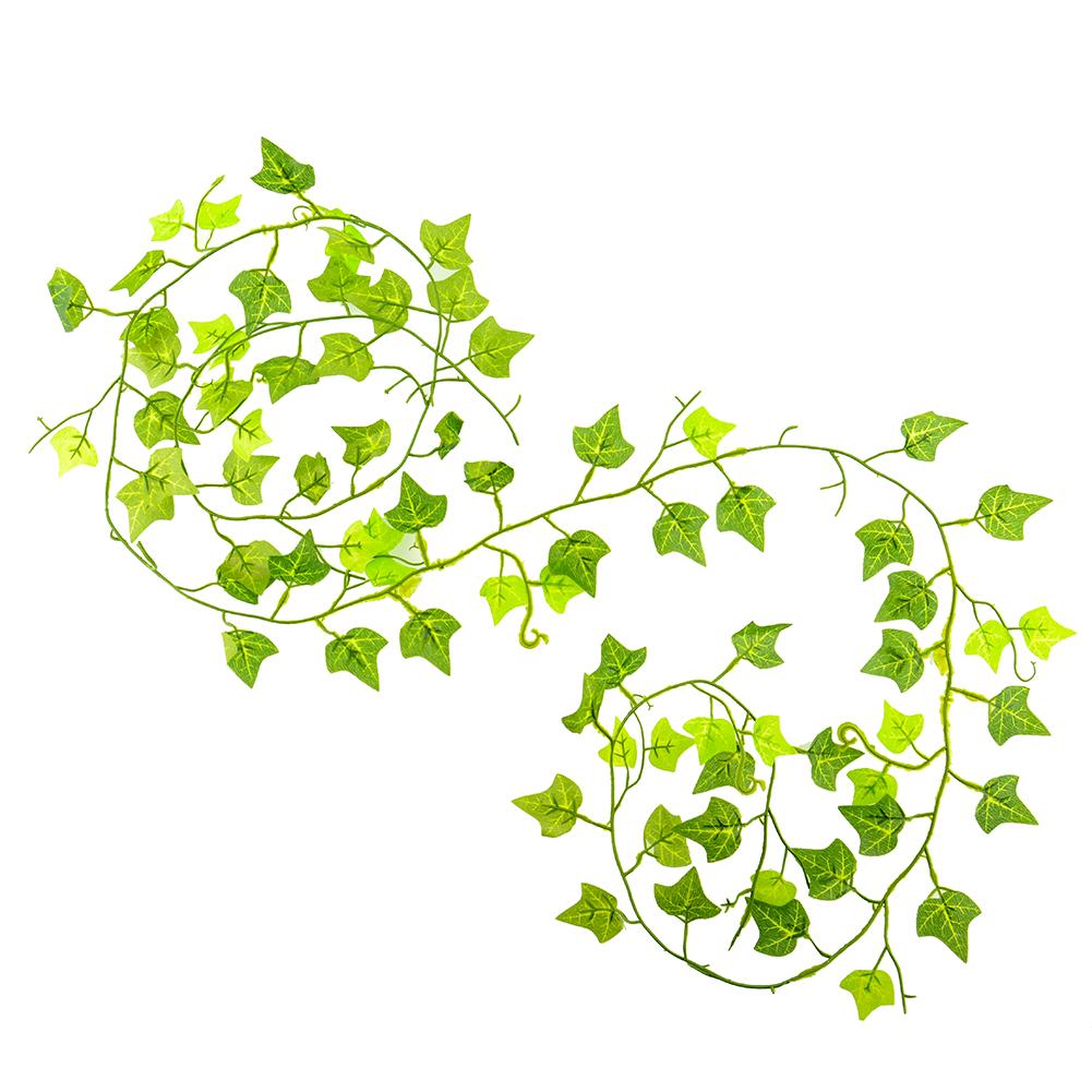 Green Artificial Hanging Ivy Leaf Leave Plants Vine Fake Foliage Home Ebay