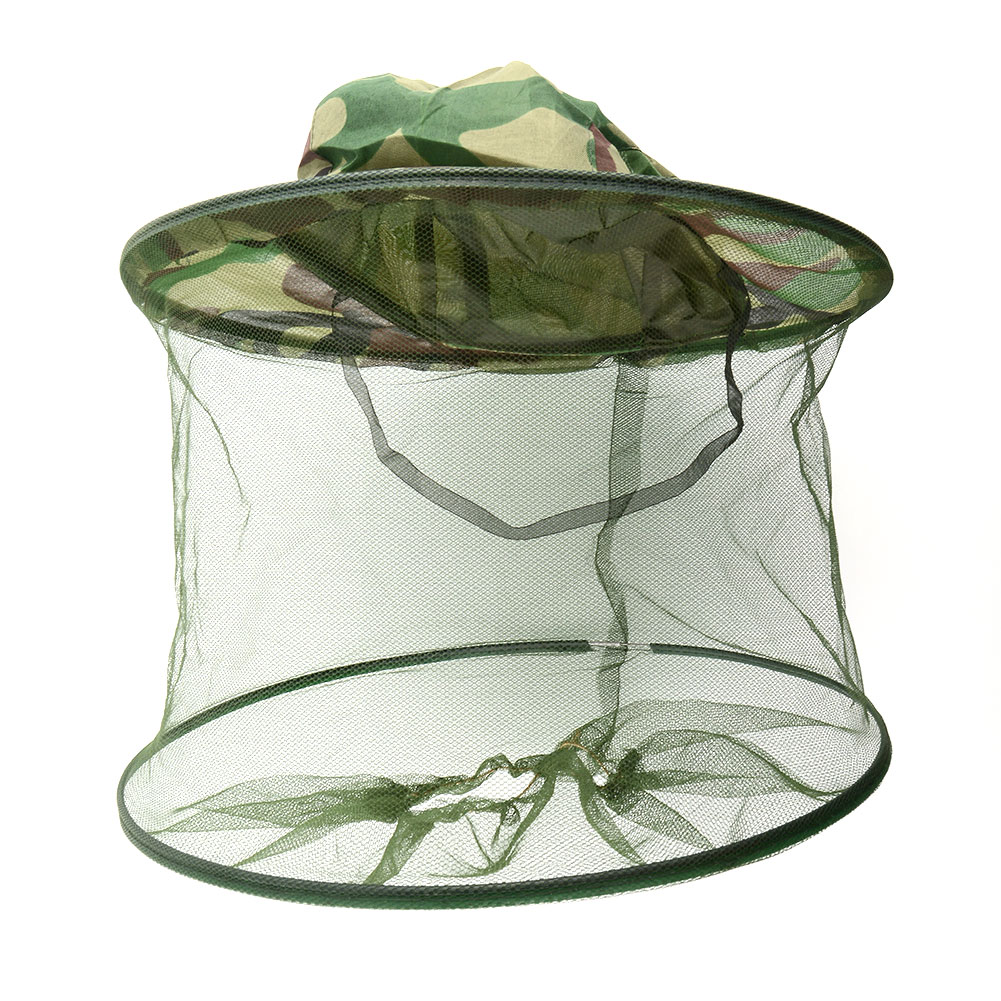 Insect mosquito beekeeping net mesh head face fishing for Mesh fishing hats