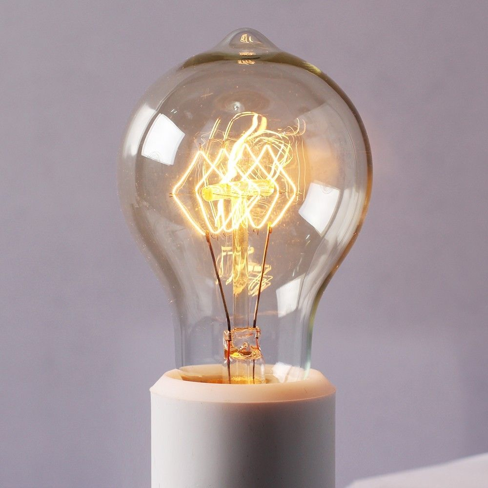 Edison Retro Tungsten Filament Industrial Light 220v/40w ...