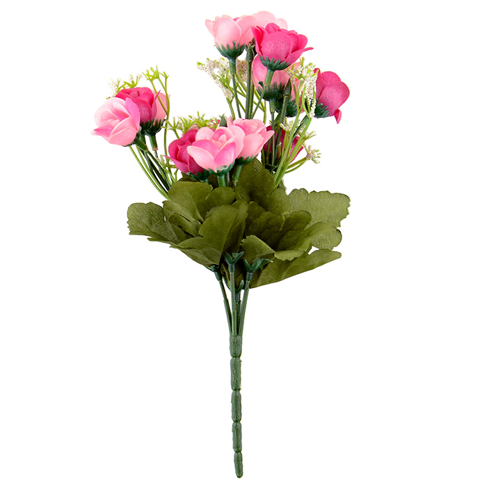 Artificial false rose silk flowers leaf home decor for Artificial flowers decoration for home