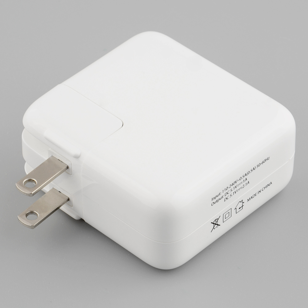 4 Ports USB AC Power Wall Charger Adapter With US Plug For