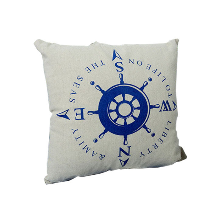 New Square Nautical Throw Pillow Cushion Case Cover Home Office Car Bed Decor