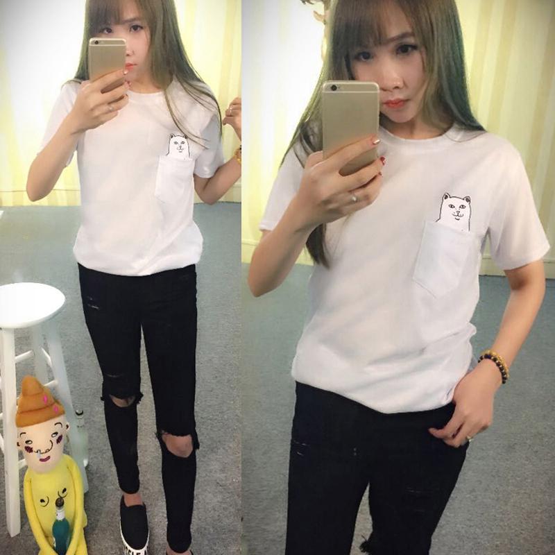 Fashion Men Womens Unisex Soft Short Sleeve T-shirts Blouse Tops Shirts