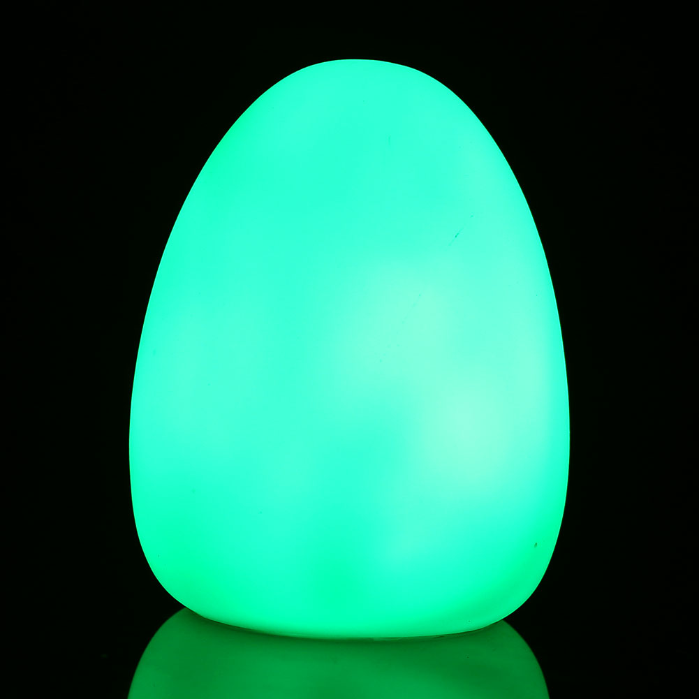 LED Color Changing Colorful Mood Egg Room Decor Lamp Baby Kid Night Light eBay