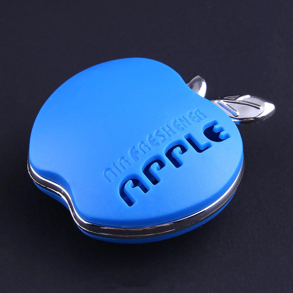 auto car air freshener outlet scent hang interior decoration apple blue ebay. Black Bedroom Furniture Sets. Home Design Ideas