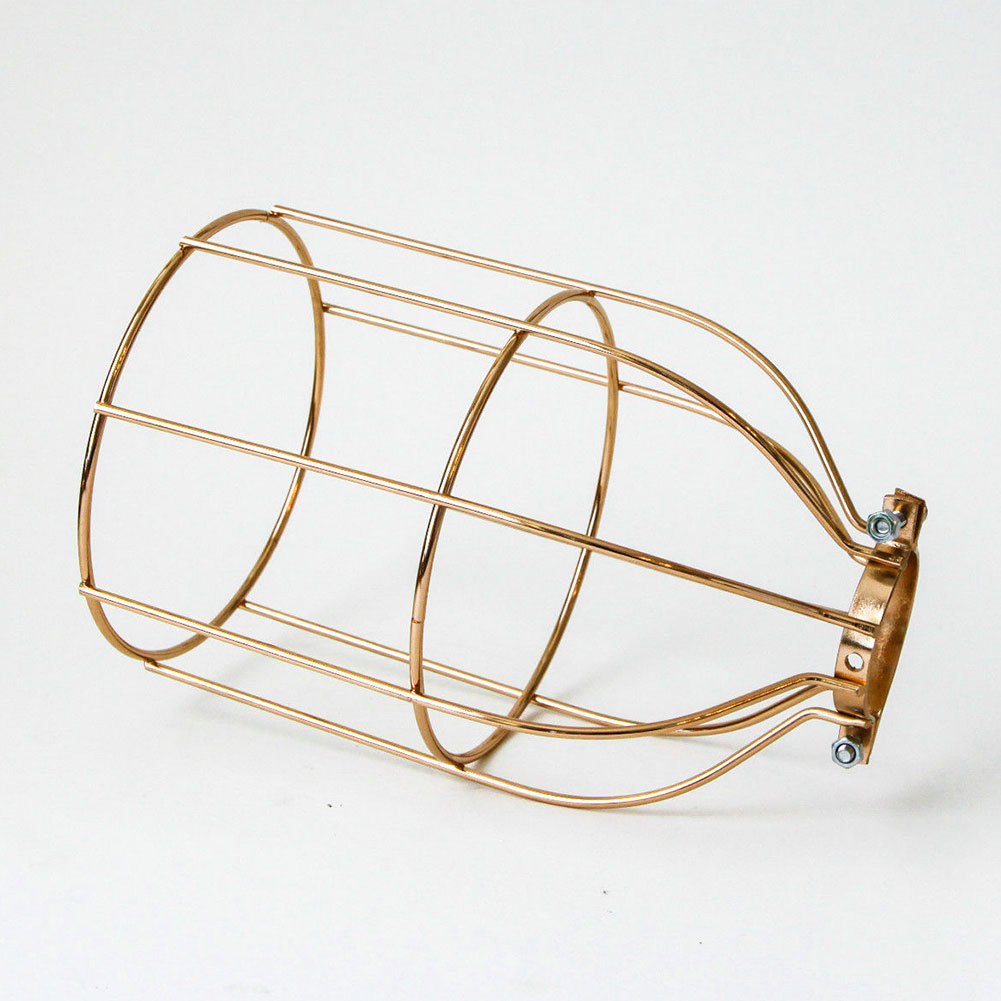 Lighting Metal Lamp Guard for String Light Lamp Holder Industrial Wire Iron Cage