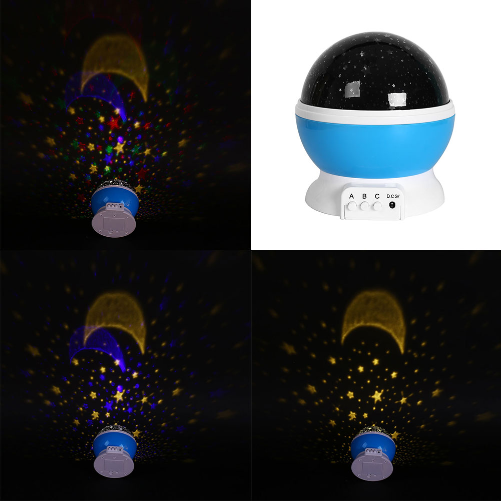 Star projector lamp ebay - Baby Comos Moon Star Projector Romantic Usb Rotating