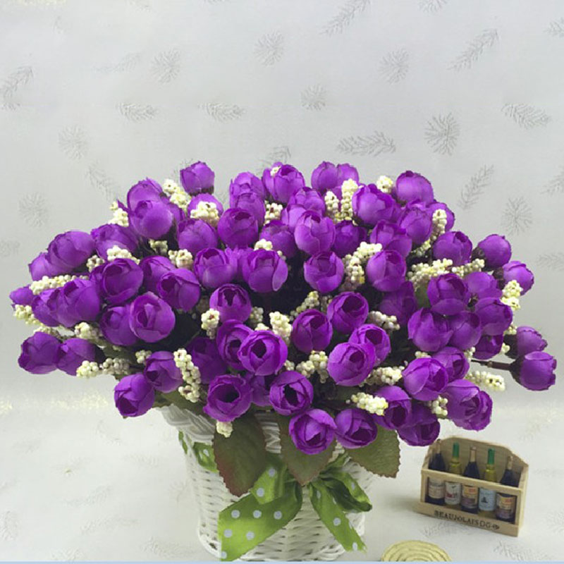 Artificial Wedding Bouquets In Sydney : Artificial flower rose bouquet home hotel wedding party