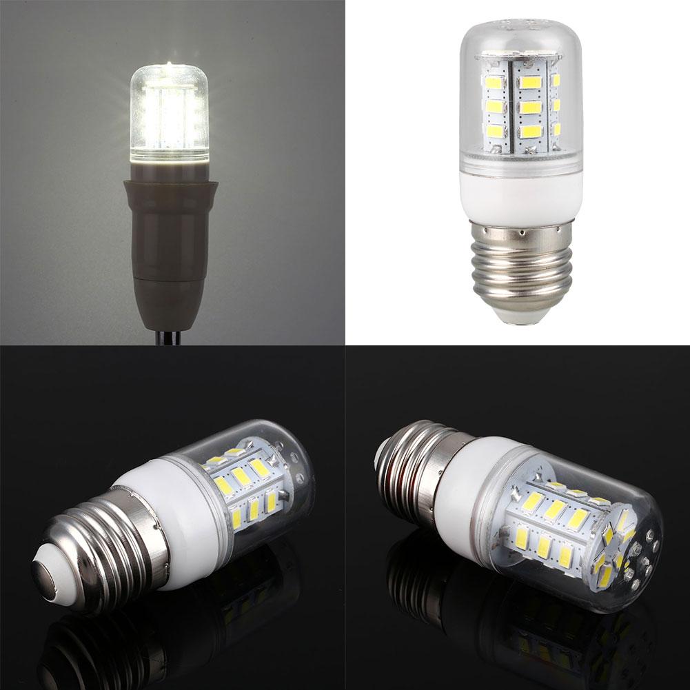 220v 3w 5730 Corn 24 Led Bulb Lamp Home Bedroom Lighting Bright Light Pure White Ebay