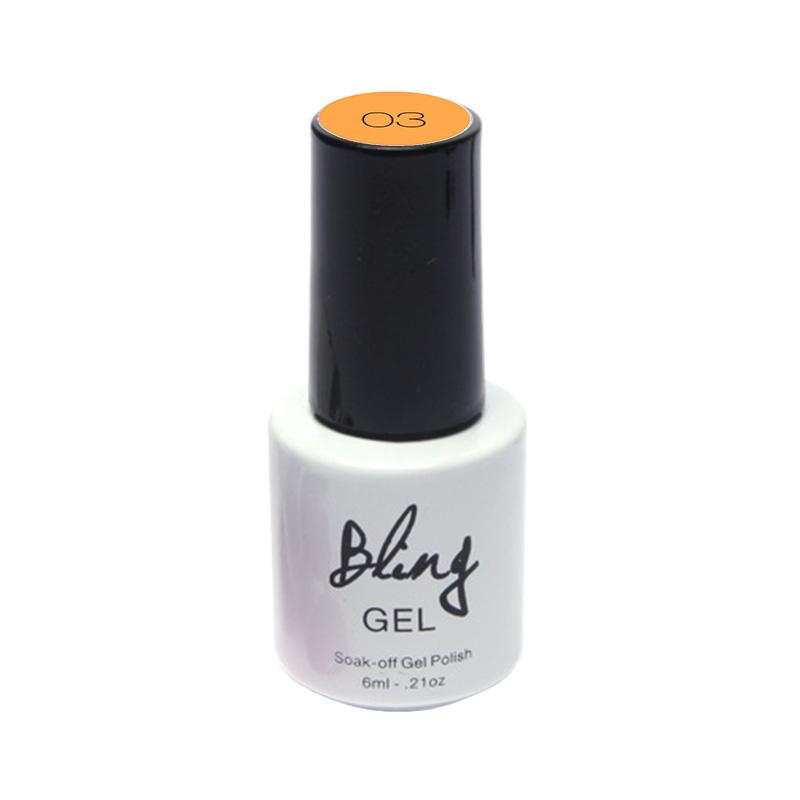 Peel Off Bling Non-Toxic LED Nail Polish Gel Liquid Art