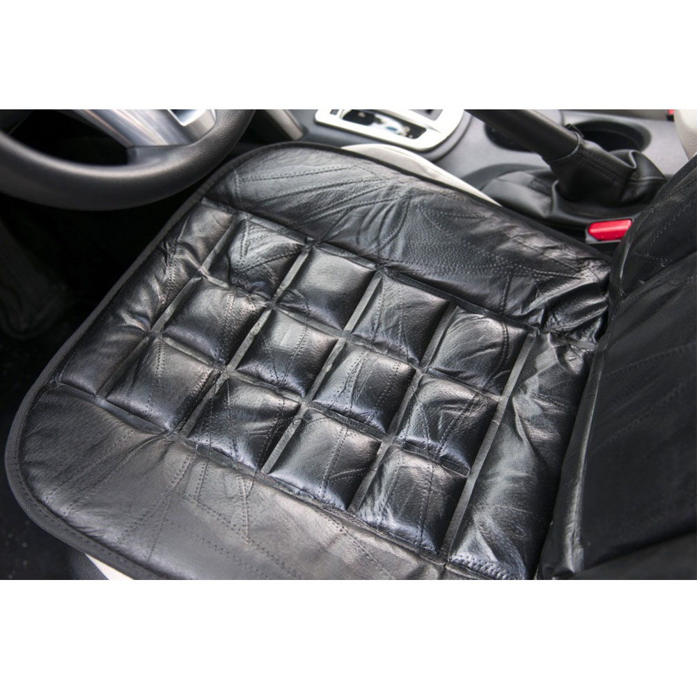car vehicle seat luxury genuine leather cushion protector interior accessories ebay. Black Bedroom Furniture Sets. Home Design Ideas