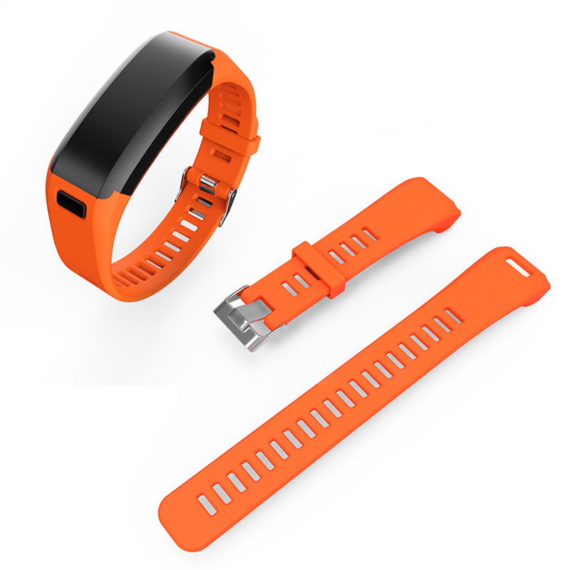sport silikon armband uhrenarmband strap f r garmin vivosmart hr uhr smart watch ebay. Black Bedroom Furniture Sets. Home Design Ideas
