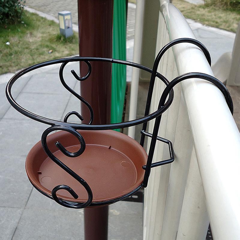 6394-Balcony-Plant-Hanging-Racks-Round-Flower-Pot-Railing-Fence-Outdoor-Decor