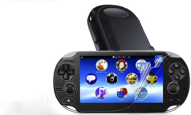 061E Screen Protective Cover Film Clear For PSVITA Playstation Vita PS VITA