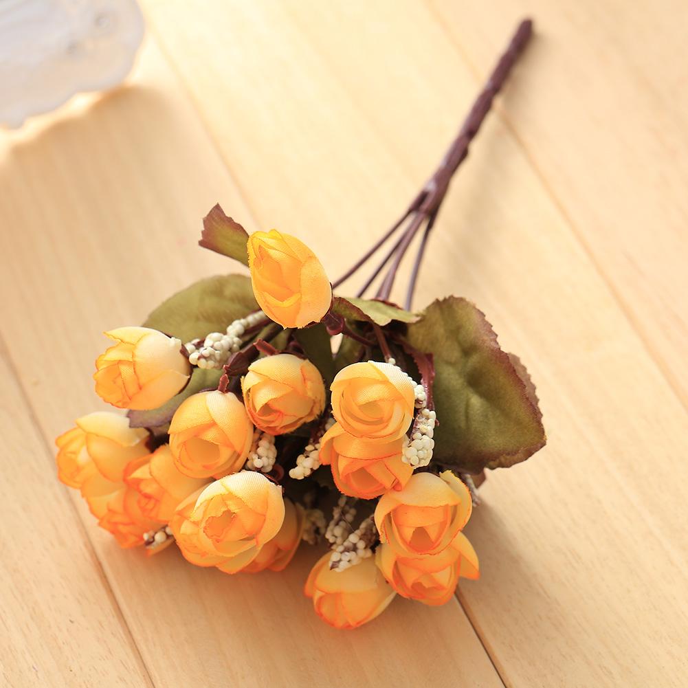 7023-15-Flower-Heads-Artificial-Camellia-Flowers-Garden-Decoration-Party-Decor