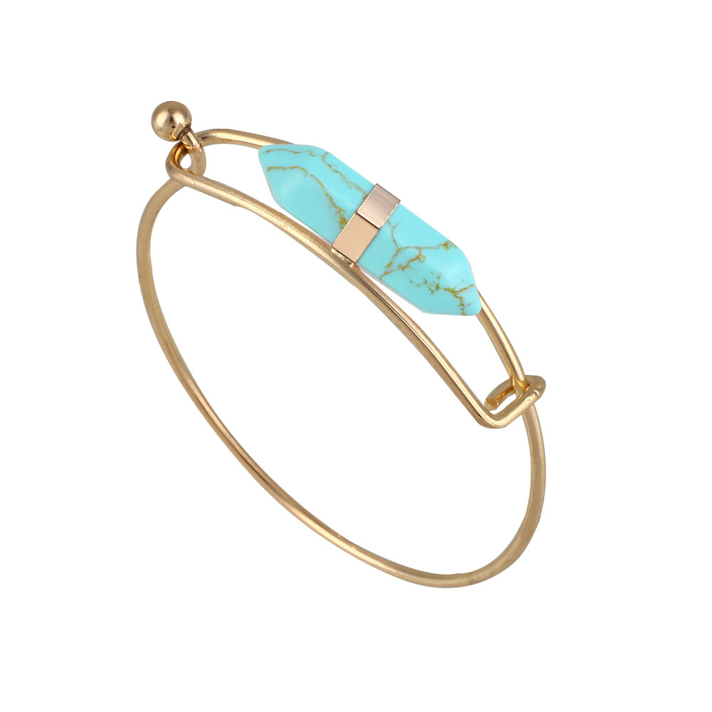 5204-Elegant-Cute-Cuff-Bangle-Boho-Designed-Natural-Stones-Metal-Accessories