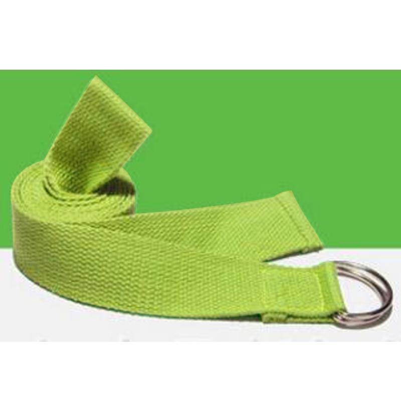 3285-2017-1-8M-Yoga-Stretch-Strap-7-Colors-Gym-Waist-Belt-Cotton-D-Ring-Sport