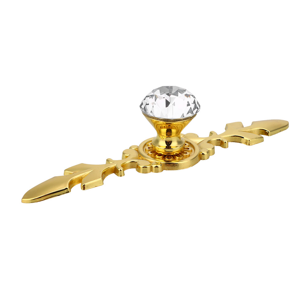 64BB-Crystal-Door-Knobs-Gold-Silver-Base-Cabinet-Pull-Handle-Decorative-S-L