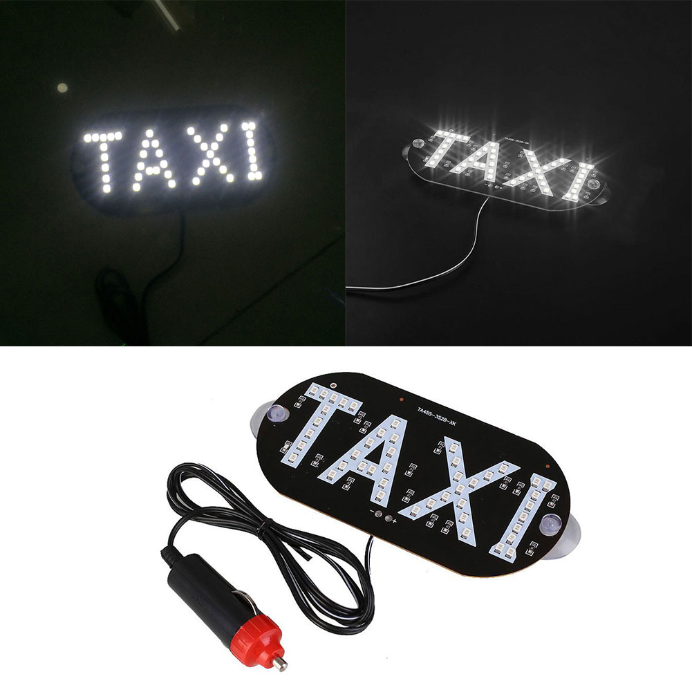 FC59-Taxi-Car-Vehicle-Interior-Windscreen-LED-Indicator-Light-Cab-Sign-Board-2W